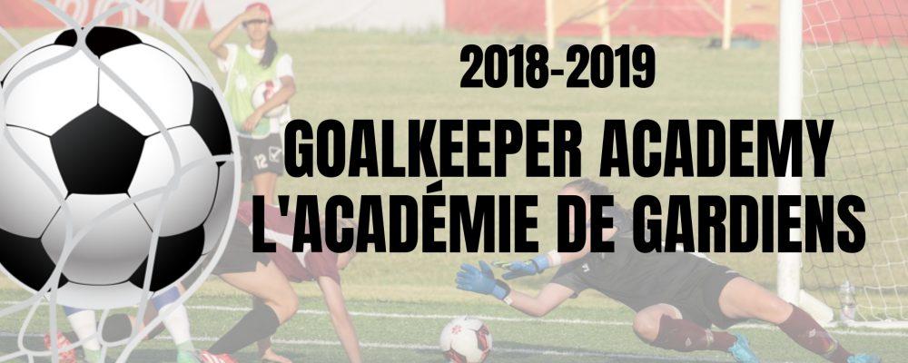Goalkeeper Academy 2018-2019