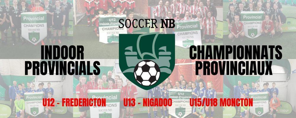 2019 Soccer New Brunswick Indoor Provincials