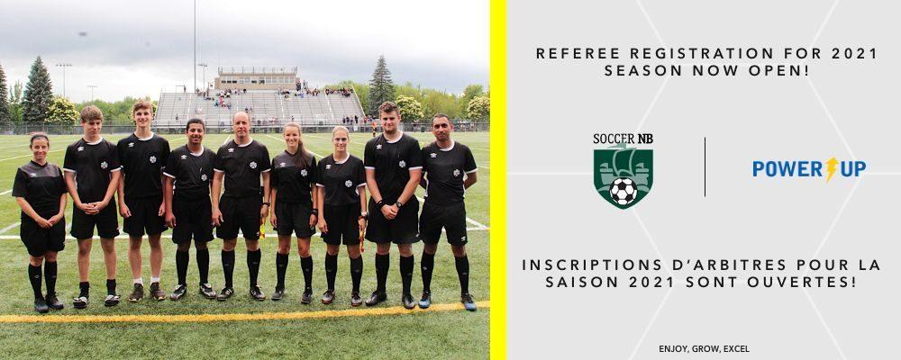 2021 Referee Registration is Open