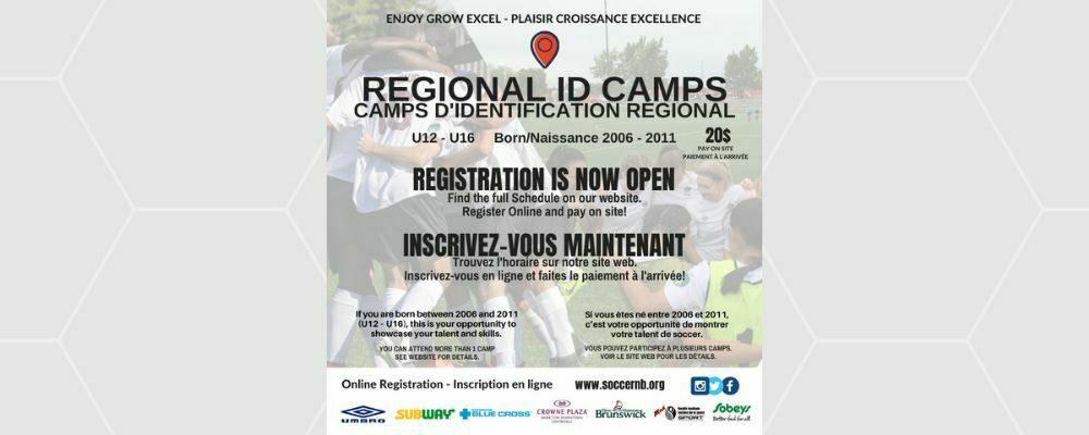 2021 Regional ID Camps REGISTRATION NOW OPEN!